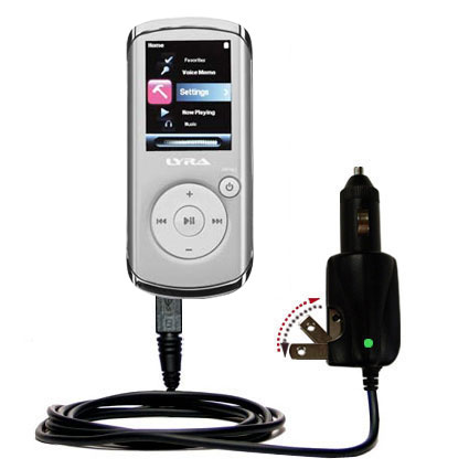 Car & Home 2 in 1 Charger compatible with the RCA MC4202 MC4204 MC4208 OPAL