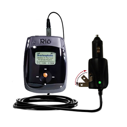 Car & Home 2 in 1 Charger compatible with the Rio Nitrus