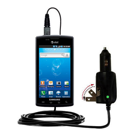 Car & Home 2 in 1 Charger compatible with the Samsung Captivate