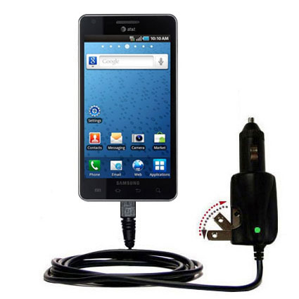 Car & Home 2 in 1 Charger compatible with the Samsung Infuse 4G