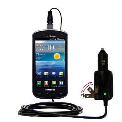 Car & Home 2 in 1 Charger compatible with the Samsung Stratosphere