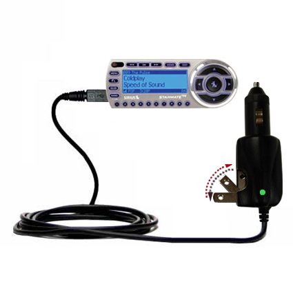 Car & Home 2 in 1 Charger compatible with the Sirius StarMate ST2
