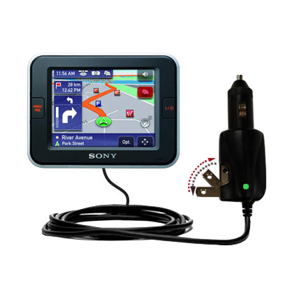Car & Home 2 in 1 Charger compatible with the Sony Nav-U NV-U52