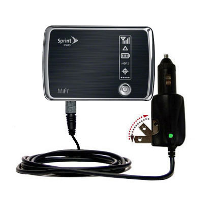 Car & Home 2 in 1 Charger compatible with the Sprint 3G/4G Mobile Hotspot