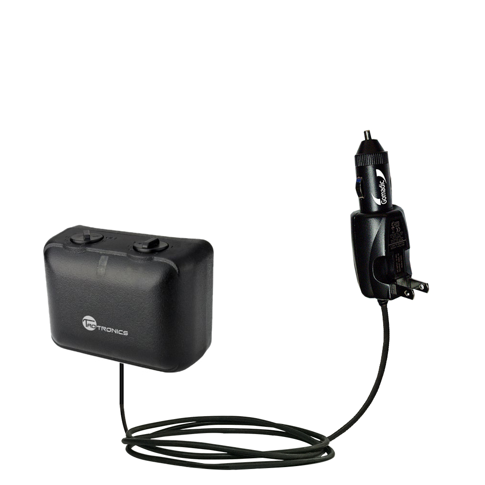 Car & Home 2 in 1 Charger compatible with the TaoTronics TT-PT06