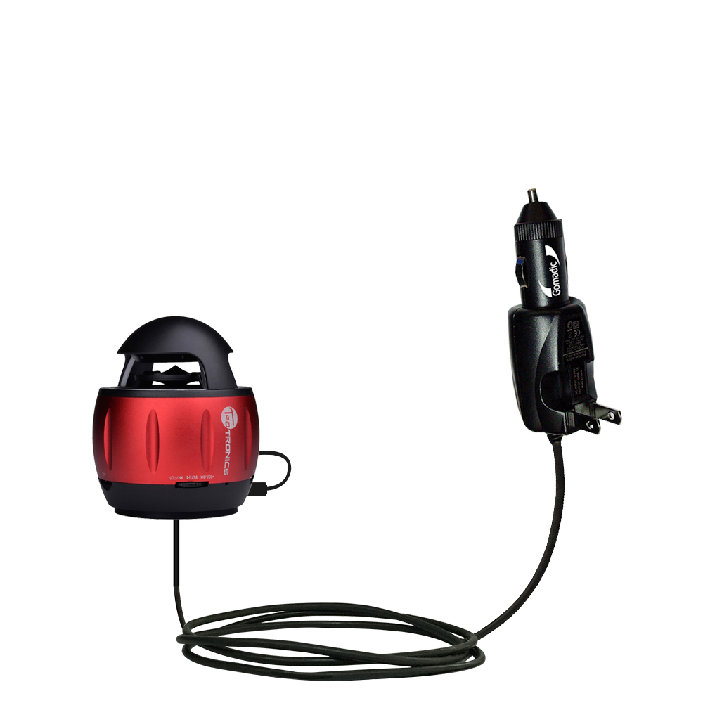 Car & Home 2 in 1 Charger compatible with the TaoTronics TT-SK01