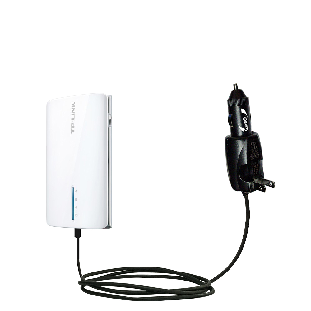 Car & Home 2 in 1 Charger compatible with the TP-Link TL-MR3040