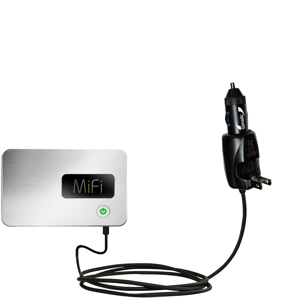 Car & Home 2 in 1 Charger compatible with the Walmart Internet on the Go