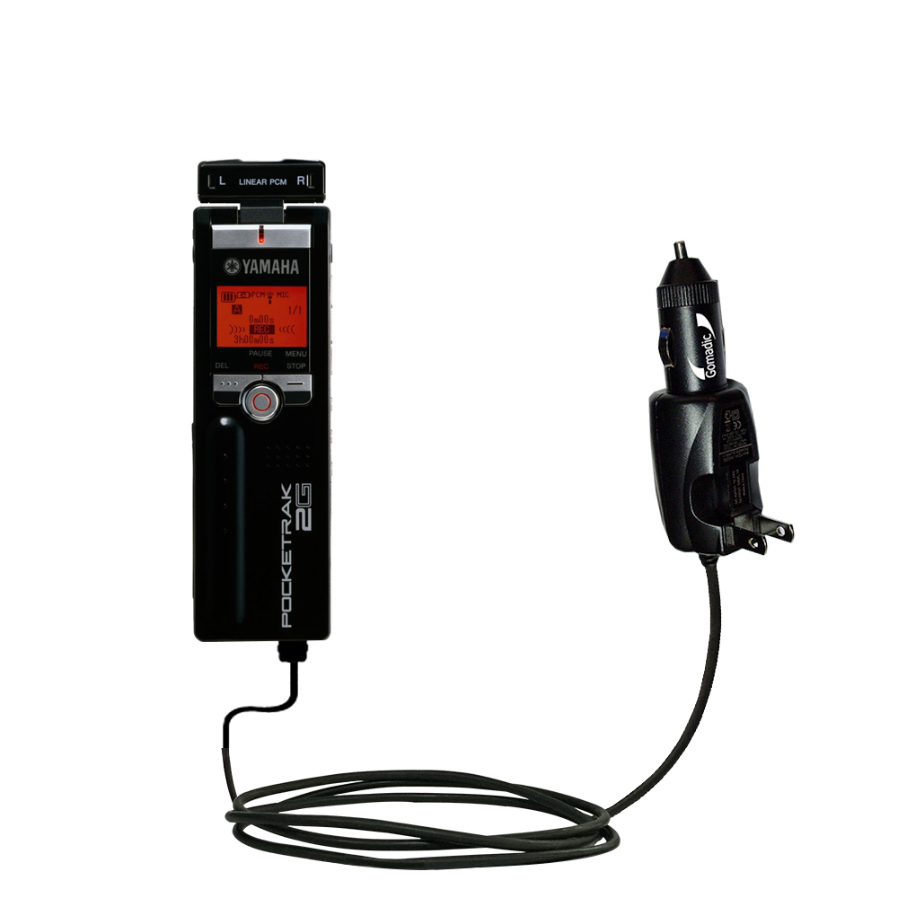 Car & Home 2 in 1 Charger compatible with the Yamaha Pocketrak 2G