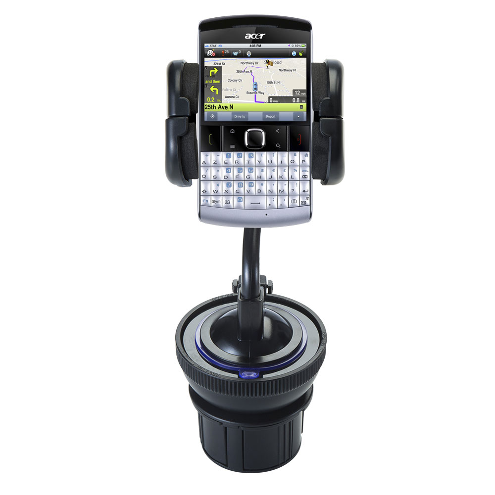Cup Holder compatible with the Acer beTouch E200 E210