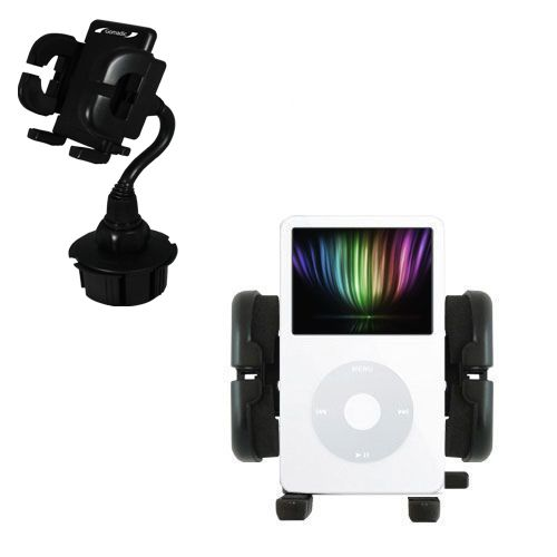 Cup Holder compatible with the Apple iPod 5G Video (30GB)