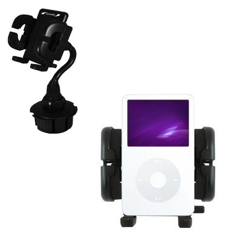 Cup Holder compatible with the Apple iPod 5G Video (60GB)