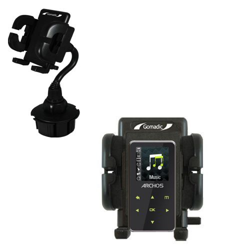 Cup Holder compatible with the Archos 15 15b Vision A15VS