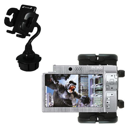 Cup Holder compatible with the Archos AV500 Series