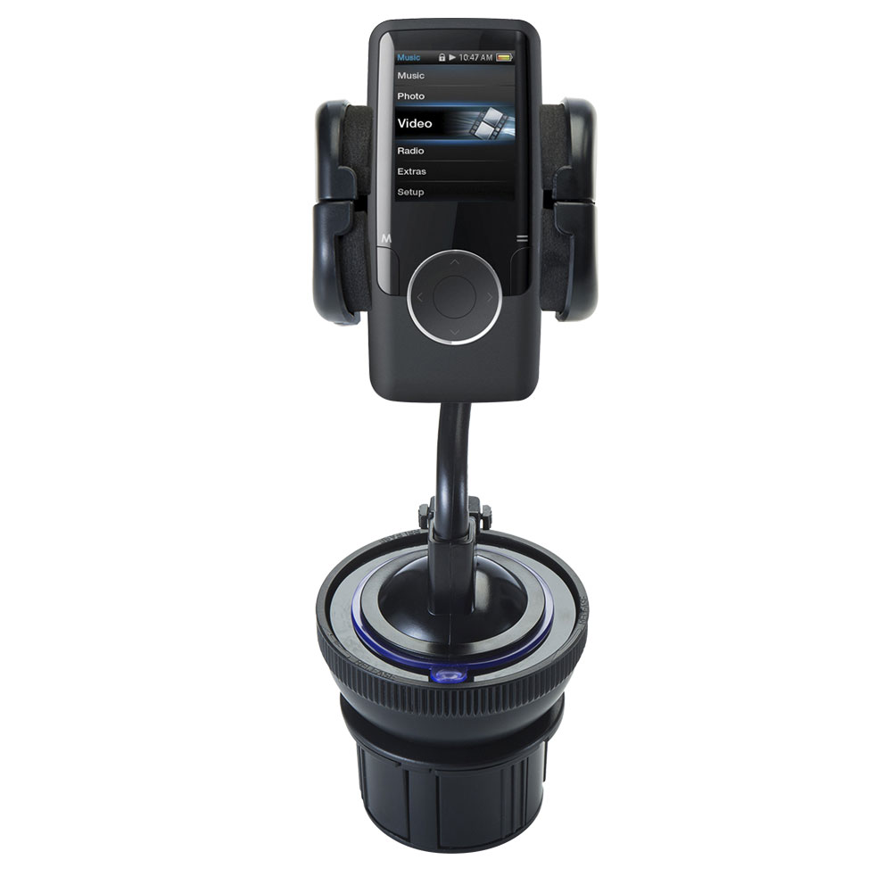 Cup Holder compatible with the Coby MP620 Video MP3 Player