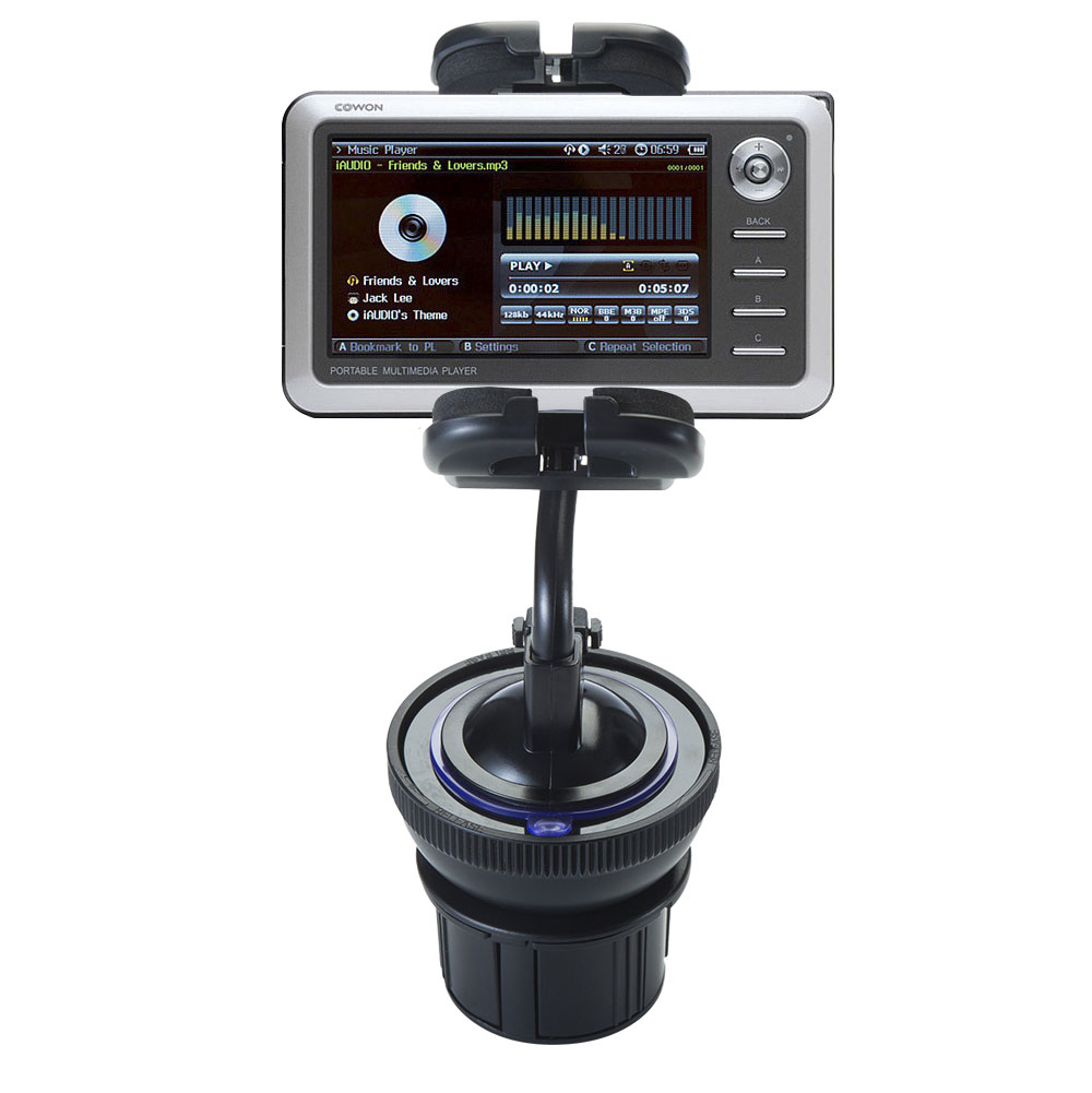 Cup Holder compatible with the Cowon iAudio A2 Portable Media Player