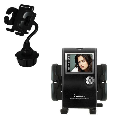 Cup Holder compatible with the Cowon iAudio X5