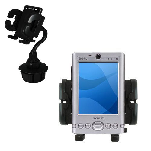 Cup Holder compatible with the Dell Axim x3 x3i
