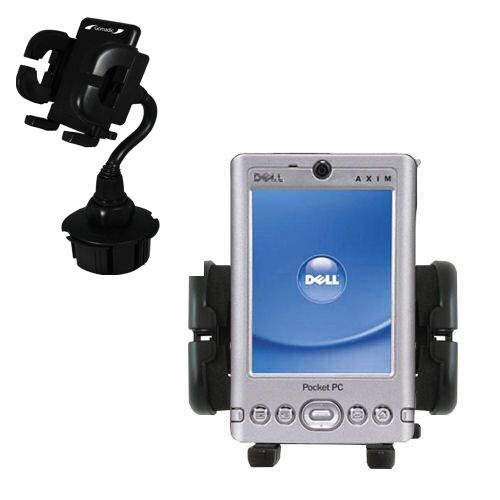 Cup Holder compatible with the Dell Axim x3i
