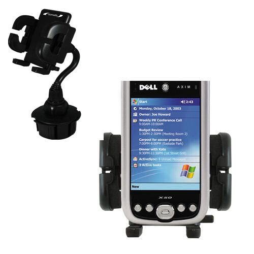 Cup Holder compatible with the Dell Axim X50 X50v