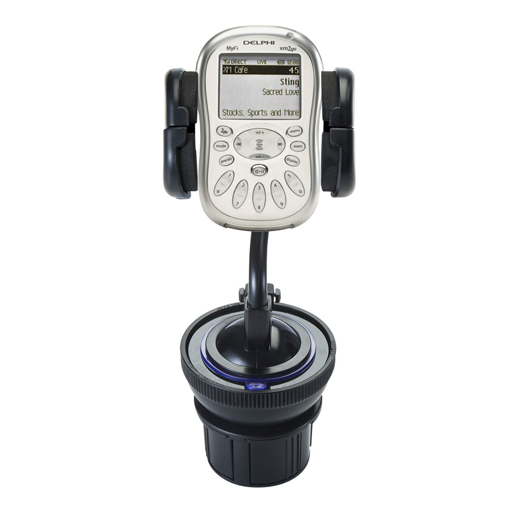 Cup Holder compatible with the Delphi MyFi XM2 Go
