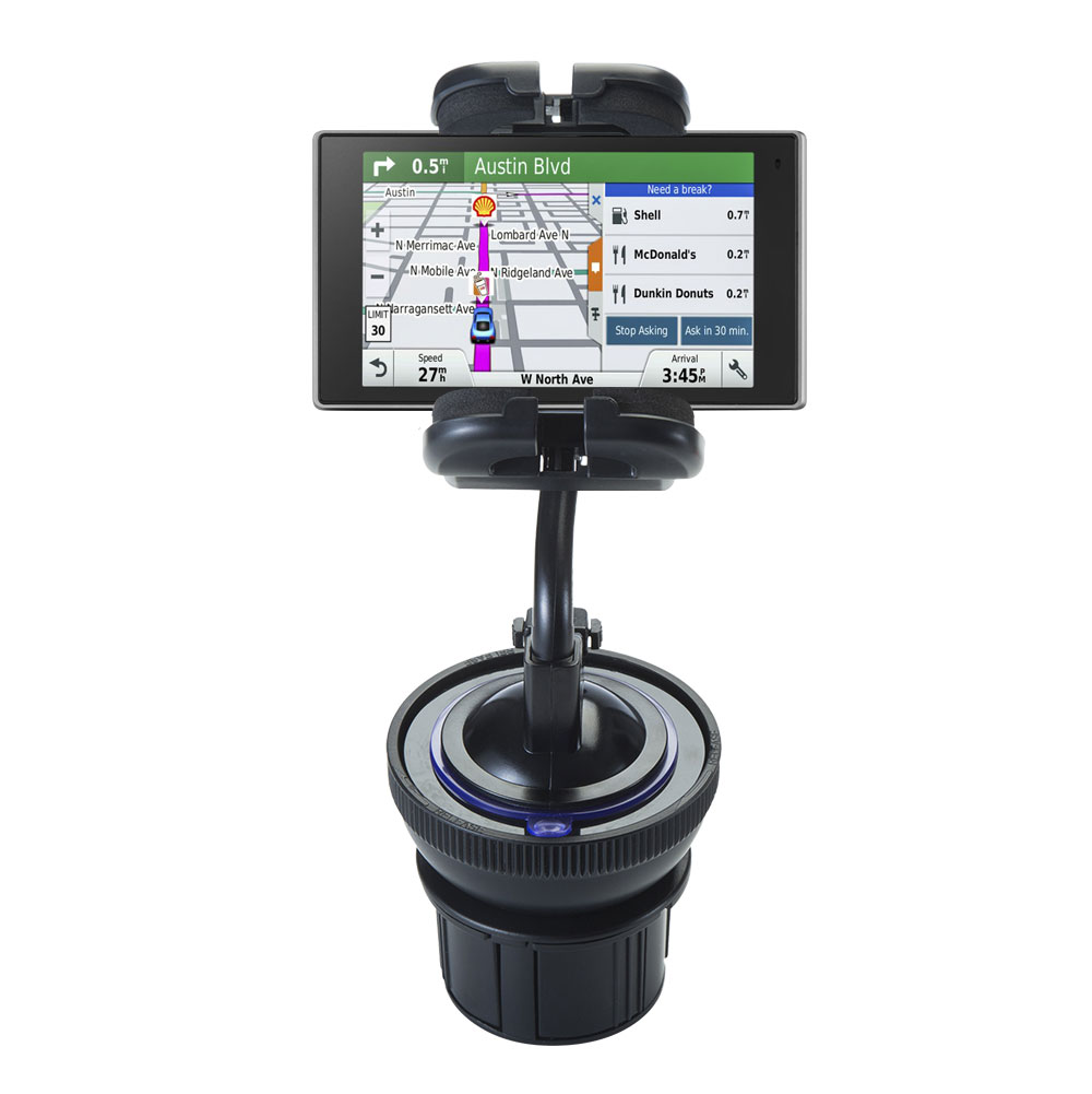 Cup Holder compatible with the Garmin DriveLuxe 50LMTHD