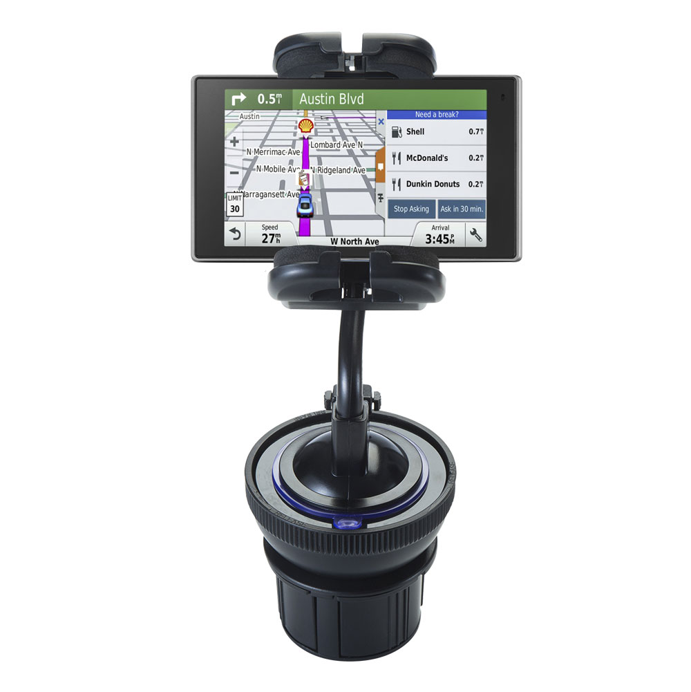 Cup Holder compatible with the Garmin DriveSmart 50LMTHD