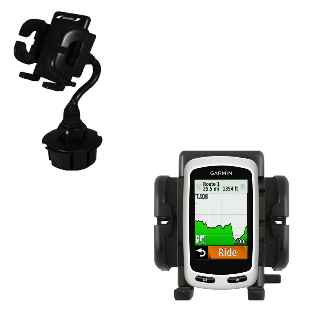 Cup Holder compatible with the Garmin Edge 1000