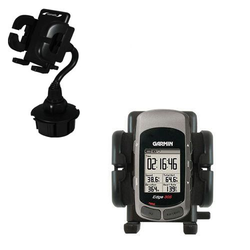 Cup Holder compatible with the Garmin Edge 305