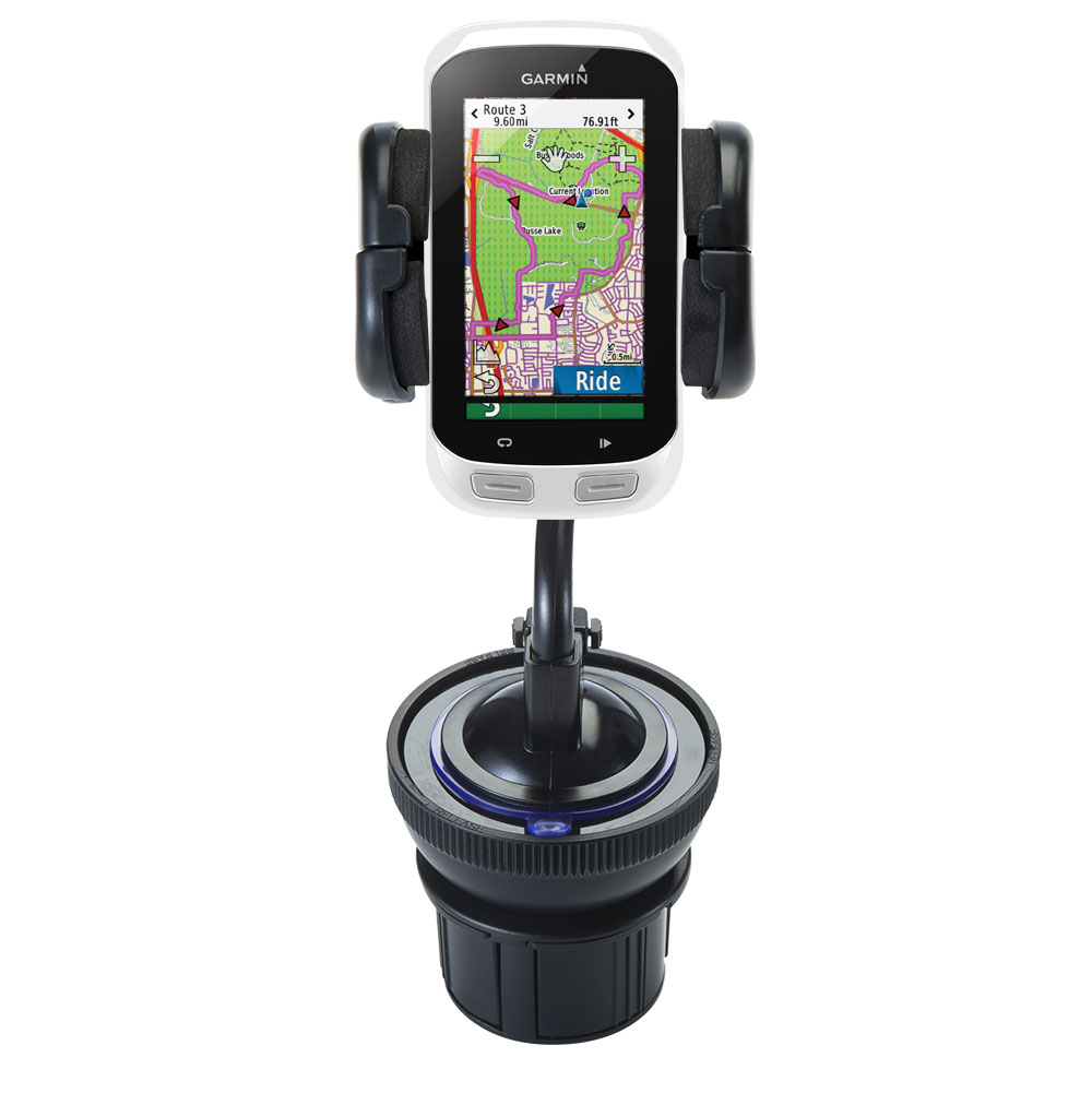 Cup Holder compatible with the Garmin EDGE Explorer 1000