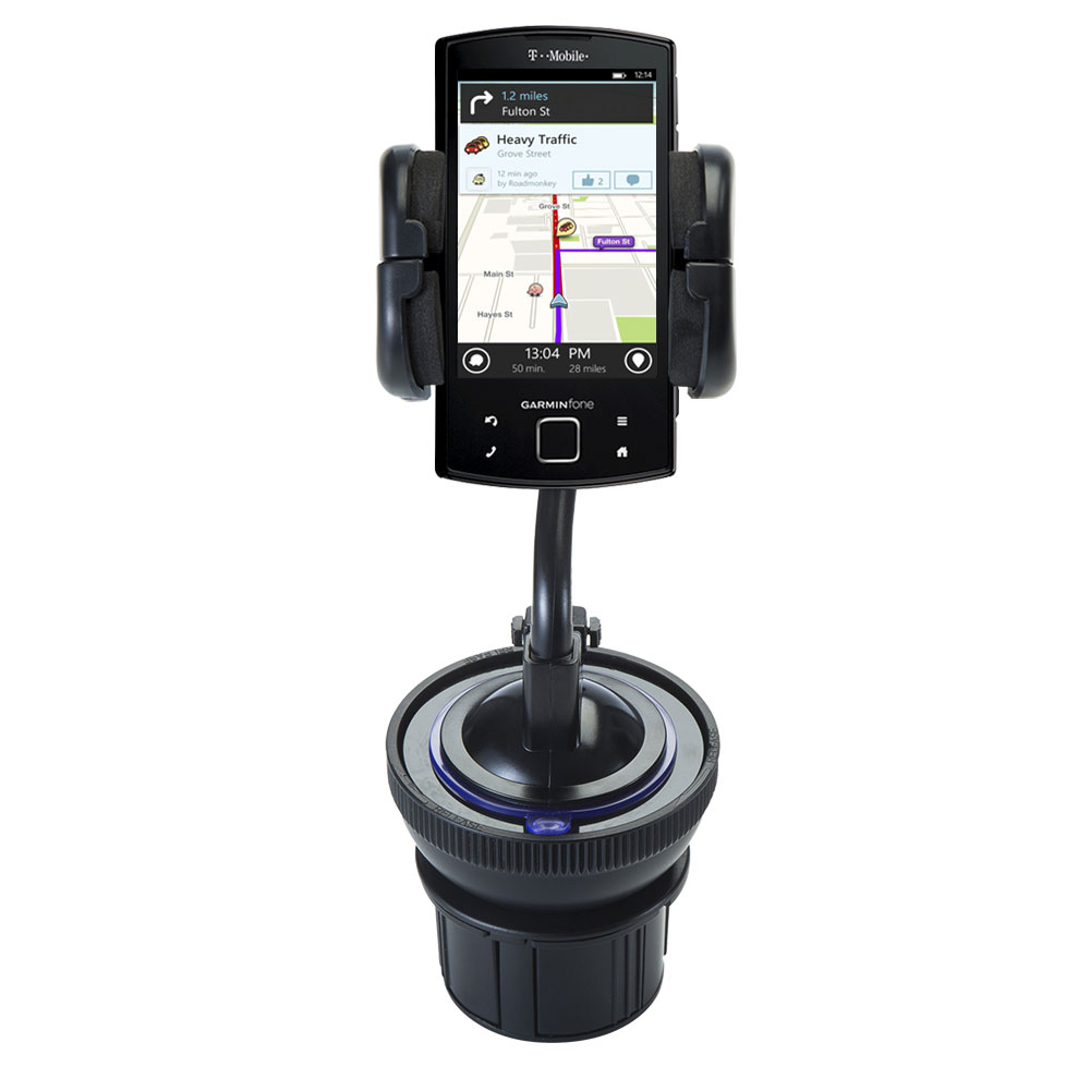 Cup Holder compatible with the Garmin Garminfone