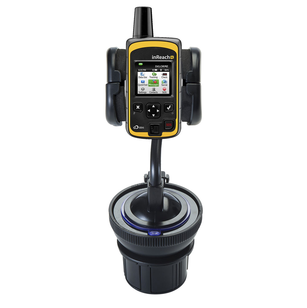 Cup Holder compatible with the Garmin inReach Explorer+