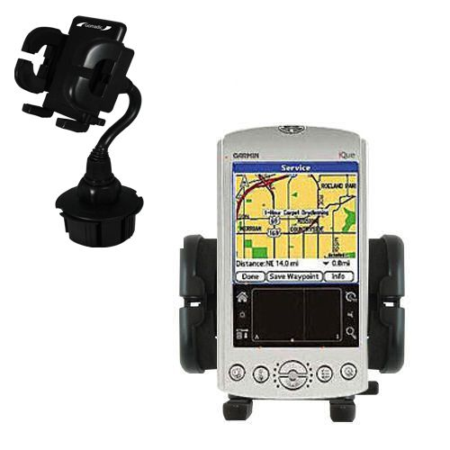 Cup Holder compatible with the Garmin iQue 3200