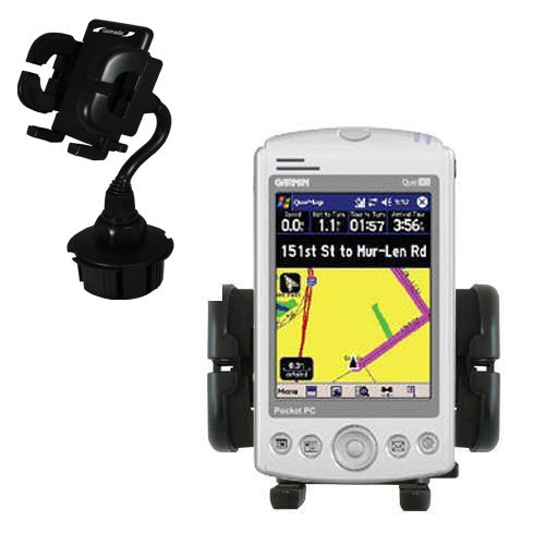 Cup Holder compatible with the Garmin iQue M5