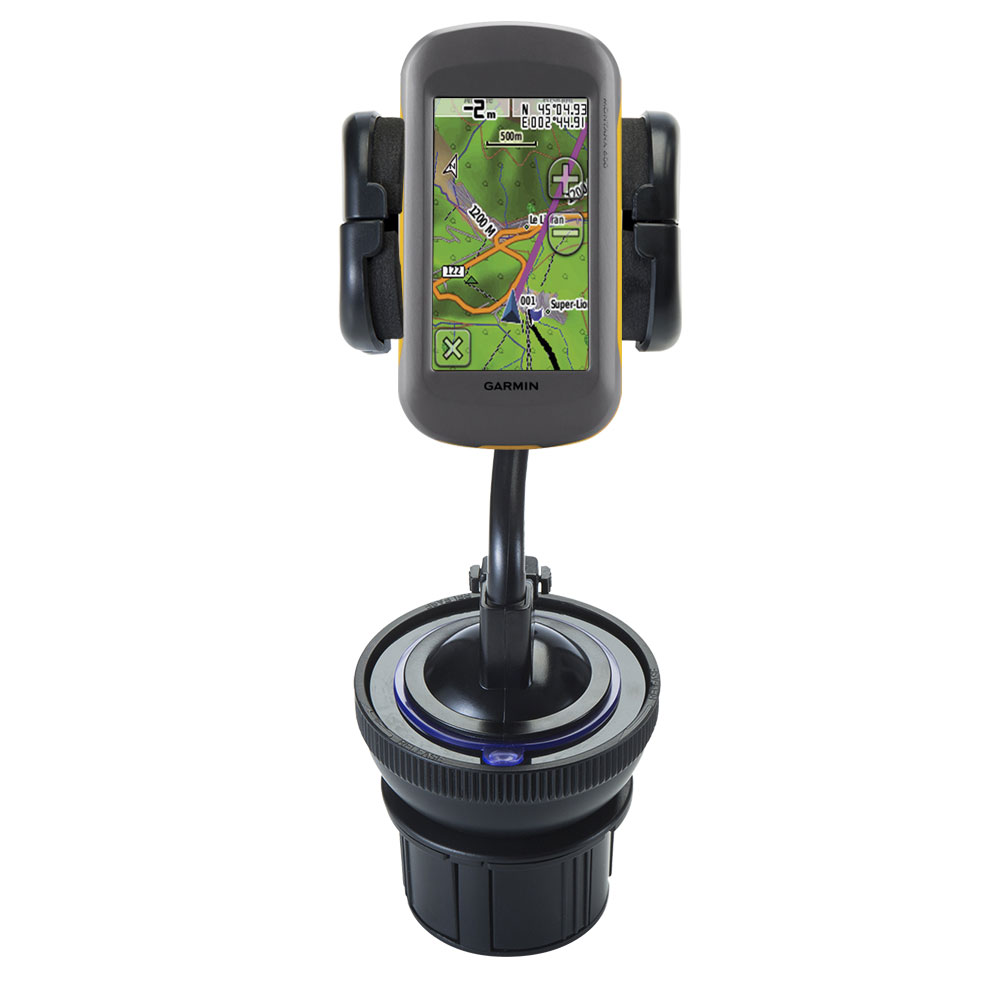 Cup Holder compatible with the Garmin Montana 600 650 650t
