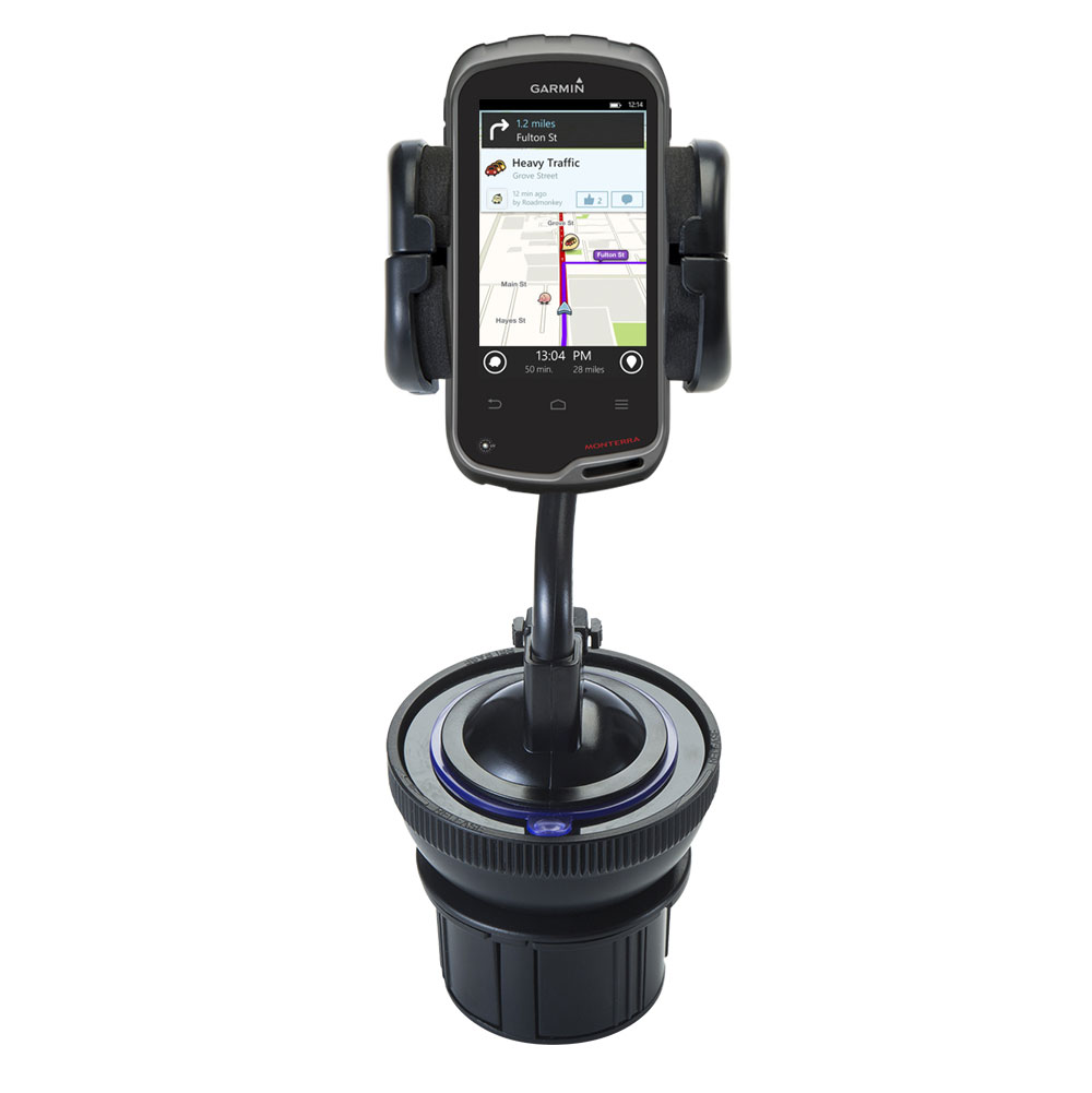 Cup Holder compatible with the Garmin Monterra