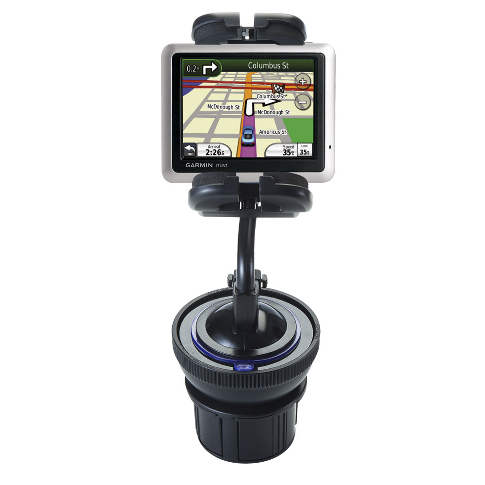 Cup Holder compatible with the Garmin Nuvi 1245 City Chic