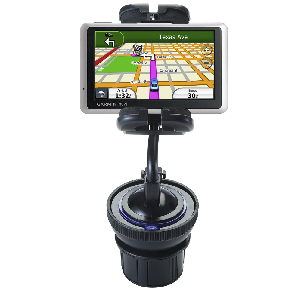 Cup Holder compatible with the Garmin Nuvi 1350T