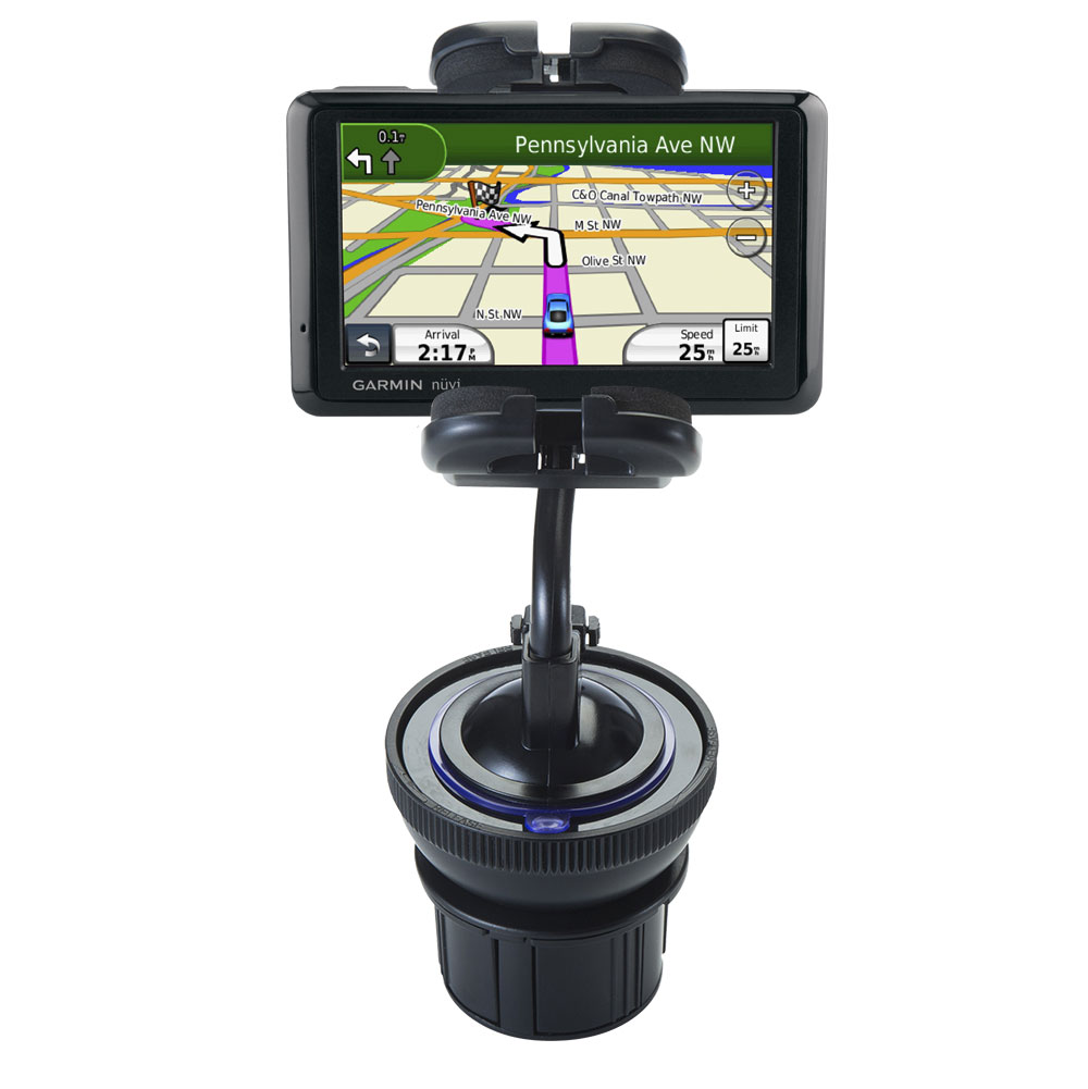 Cup Holder compatible with the Garmin Nuvi 1390T