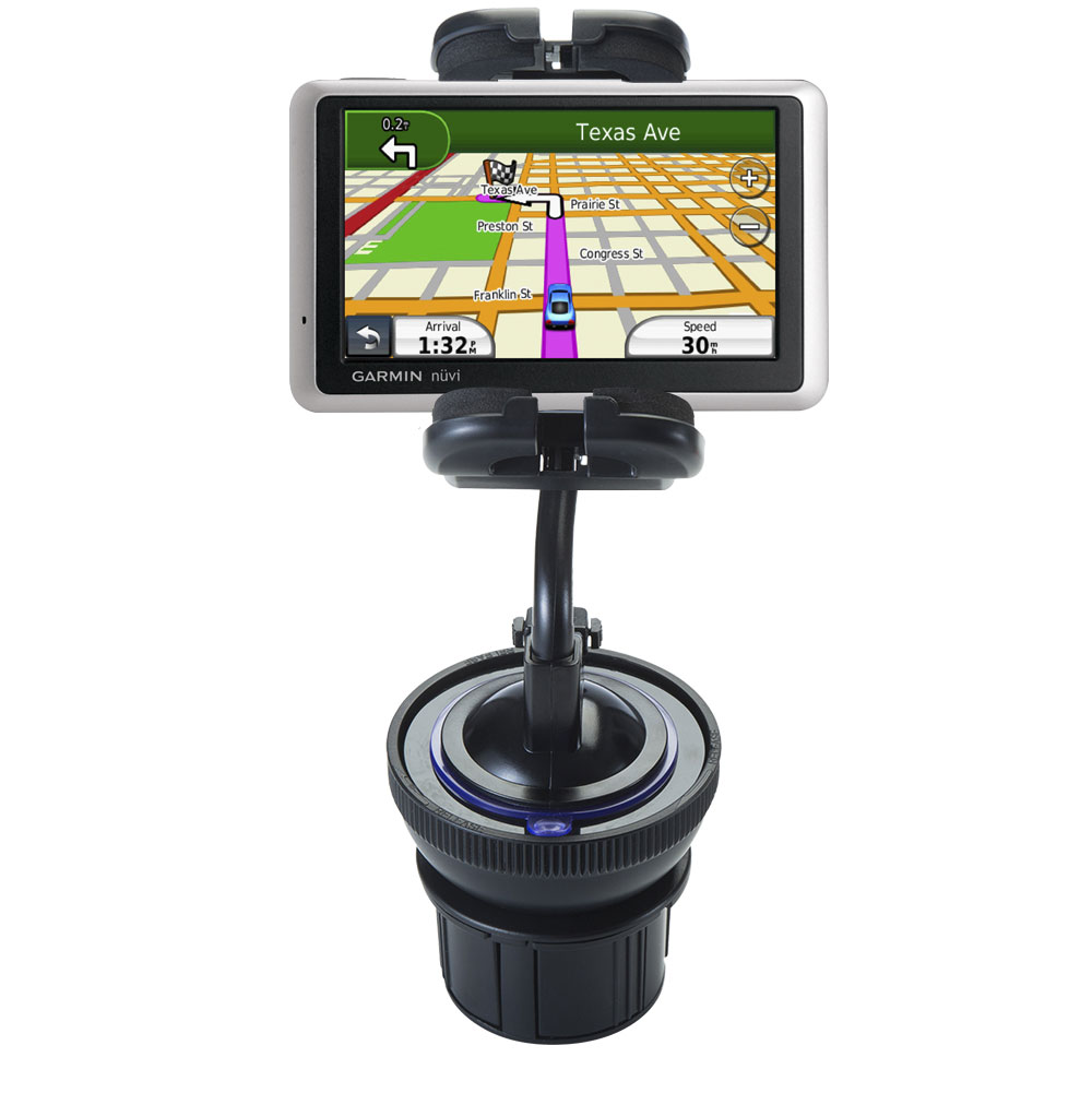 Cup Holder compatible with the Garmin Nuvi 1450T