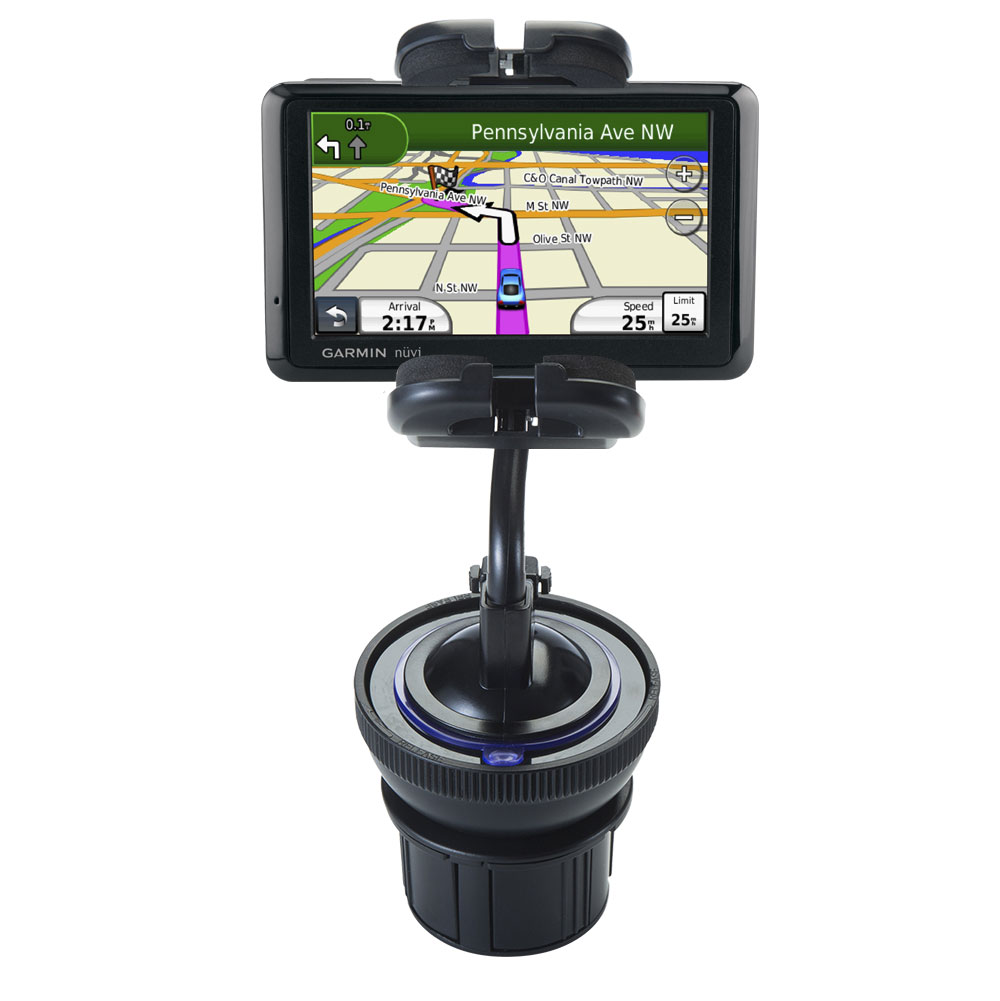 Cup Holder compatible with the Garmin Nuvi 1490T