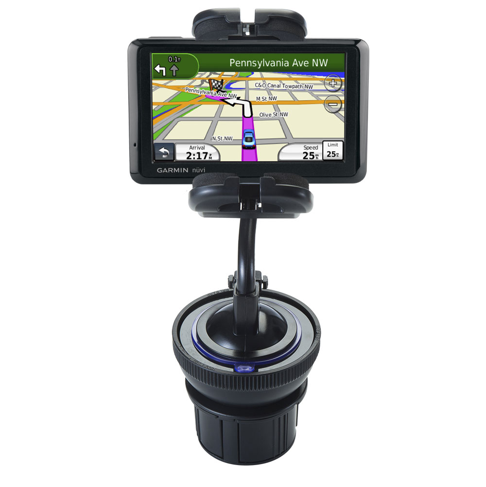 Cup Holder compatible with the Garmin Nuvi 1490Tpro