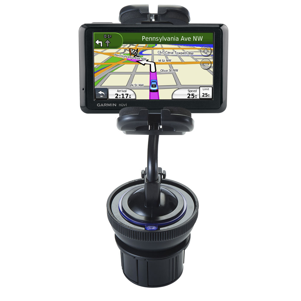 Cup Holder compatible with the Garmin nuvi 205WT
