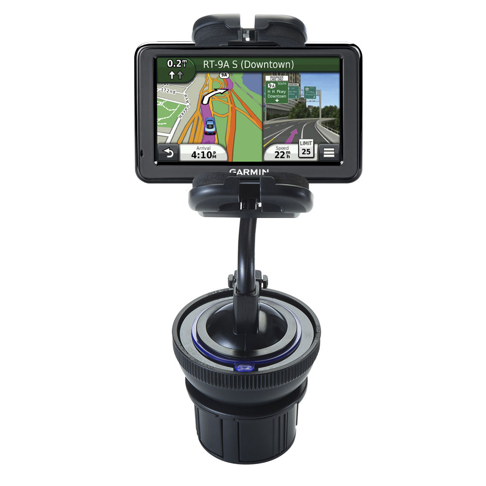 Cup Holder compatible with the Garmin Nuvi 2455 2475LT 2495LMT 2455LMT