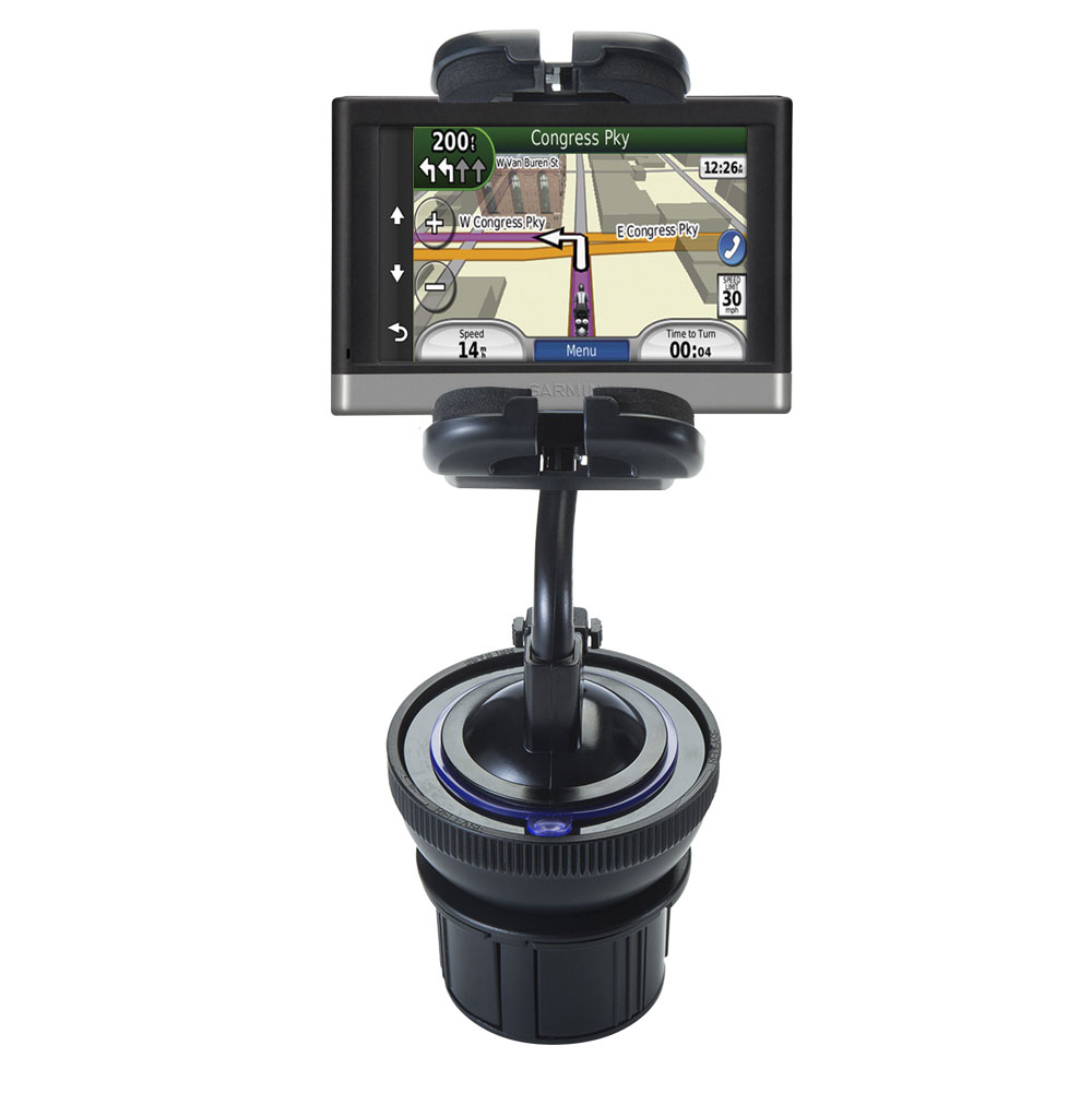 Cup Holder compatible with the Garmin nuvi 2557 / 2577 / 2597 LMT