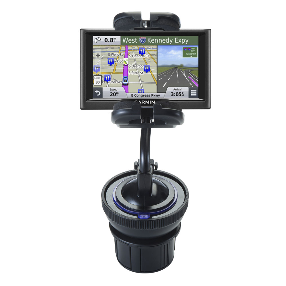 Cup Holder compatible with the Garmin nuvi 67 / 68 LM LMT