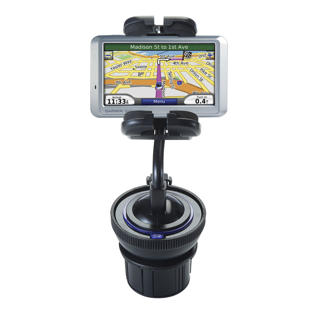 Cup Holder compatible with the Garmin Nuvi 755T
