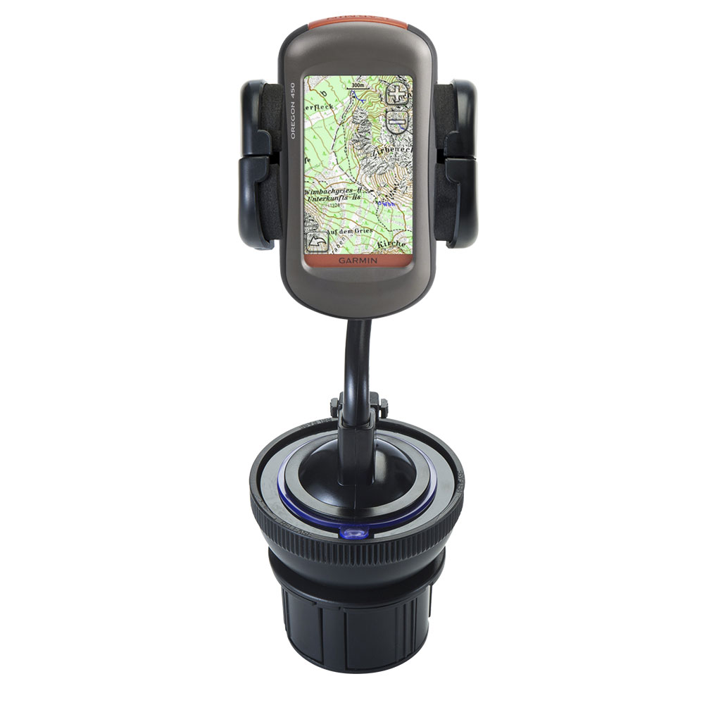Cup Holder compatible with the Garmin  Oregon 450 450t 550 550t