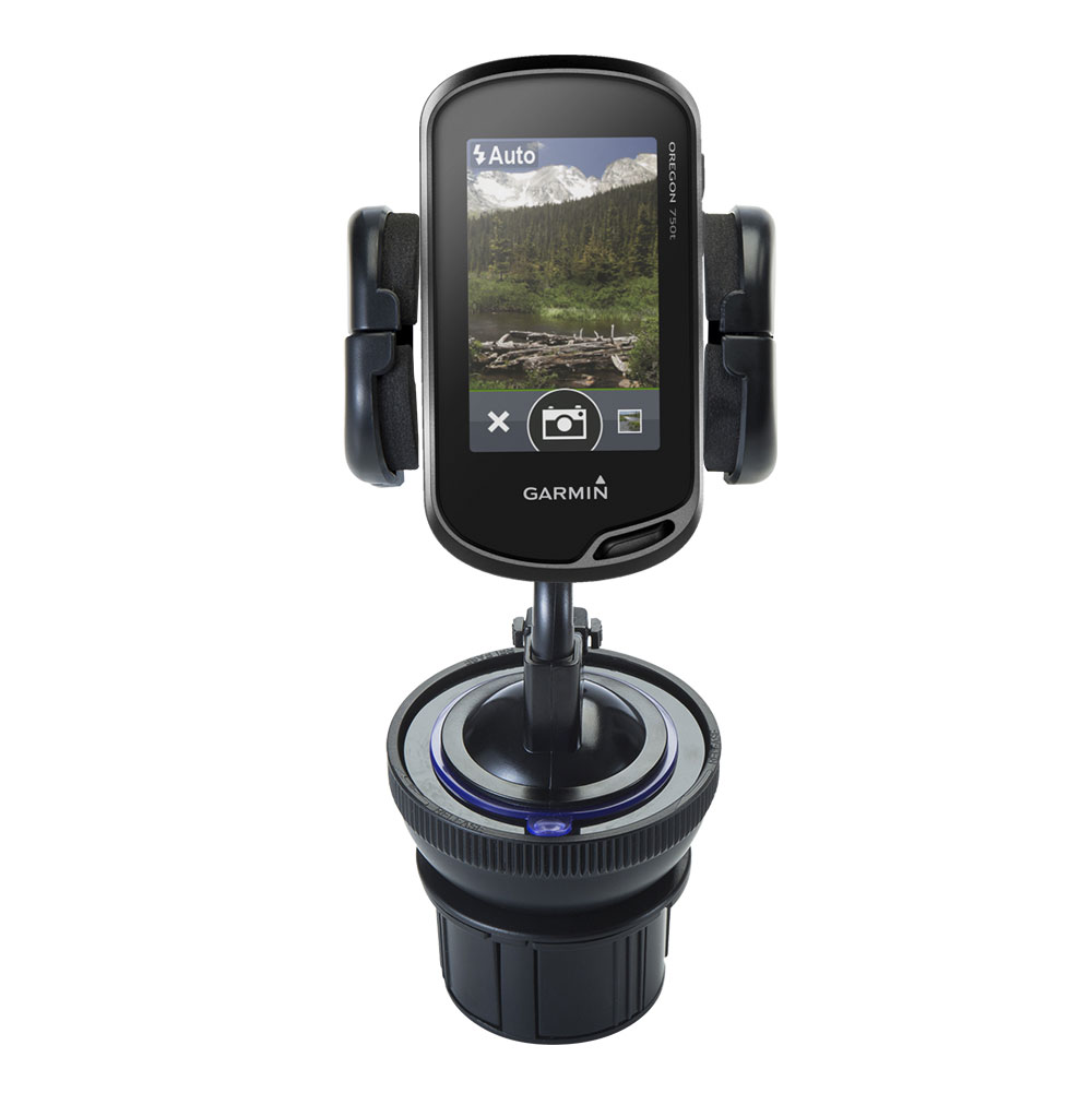 Cup Holder compatible with the Garmin Oregon 700