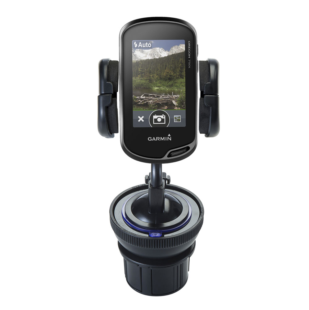 Cup Holder compatible with the Garmin Oregon 750 / 750t